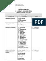 Organigramma III Facoltà di Ingegneria CP20110218