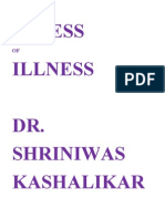 Stress of Illness Dr Shriniwas Kashalikar
