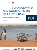 Climate change, water and conflict in the Niger River Basin