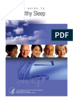 Your Guide to Healthy Sleep eBook