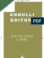 Catalogo Annulli Editori 2012