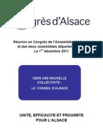 Rapport Congrès D'Alsace