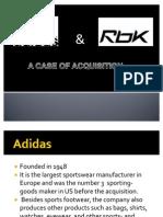 Adidas Reebok M&A