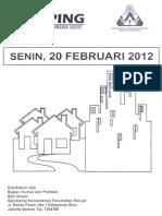 Scan Kliping Berita Perumahan Rakyat dari Media Cetak, 20 Februari 2012