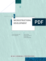 Microstructural Development - The Science and Design of Engineering Materials
