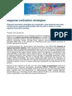 Regional innovation strategies