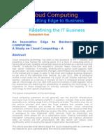 Cloud Computing Dd