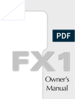 FX1 Manual English Spanish