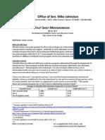 HB 12-1177 Development Disabilities Home Care Allowance Grant