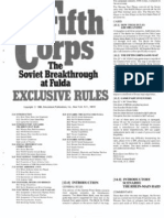 SPI Fifth Corps Exclusive Rules