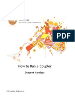 How to Run a Coupler Student Handout