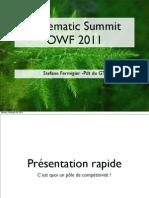 Systematic Summit Owf 2011