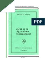 La Agricultura biodinamica