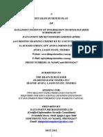 Datapoint Business Plan Diamond Bank