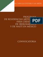 Residencias Iberoamerica 2012