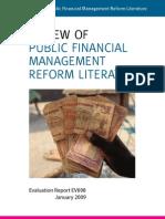 Review Pub Finan Mgmt Reform Lit[1]