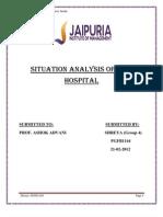 Situation Analysis of City Hospital