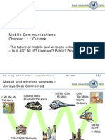 Basics of Mobile Commu