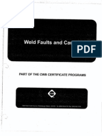 Weld Faults & Causes