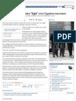 "Leading Socialist denies ""fight"" over Zapatero successor -- El País"