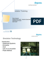Industrial Formulator Training_HLB