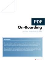 Client On Boarding. a Best Practice Guide