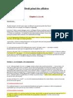 Droit Penal Des Affaires