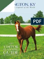 2012 Lexington Visitors Planning Guide