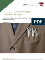 USP-D Führungskräfteentwicklung für Advanced Manager