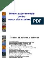 Tehnici Experiment Ale Pentru Nano- Si Microstructuri -C5-7