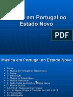 13 - Música Em Portugal No Estado Novo