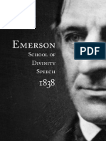 Emerson Speech Full