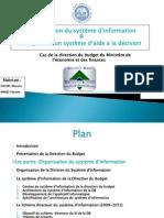 Système d'aide à la décision - Direction du budget