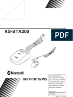 KS BTA200 Instructions