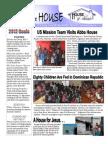 House Of Friends February 2012 newsletter
