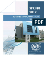 Business Information Systems - Sylabbus (Spring 2012)