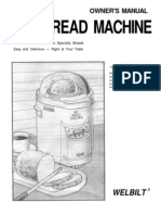 Welbilt ABM 100 Bread Machine Manual