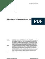 James Lyndsay - Adventures in Session-Based Testing