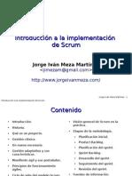 Introduccion a La Implementacion de Scrum