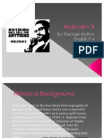 Malcolm X Power Point by George Molina