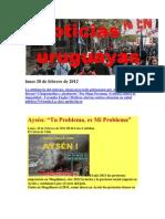 Noticias Uruguayas domingo 19 de Febrero de 2012