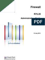 CP R75.20 Firewall Admin Guide