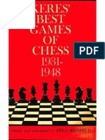 Fred Reinfeld - Keres' Best Games of Chess 1931-1948