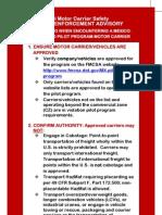 Law Enforcement Visor Card 508