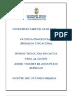 Tecnología EducativaTere Prado