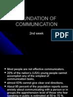 Foundation of Communication