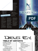 Deus Ex - Manual - PC