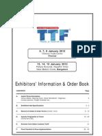 Exhibitor Manual TTF Chennai+Bangalore 2012