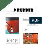 Ship Rudder