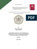Laporan Penelitian Kualitatif Pendidikan Karakter